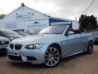 2009 09 BMW M3 CONVERTIBLE HARD TOP 4.0 V8 DCT 2dr - RAC DEALER