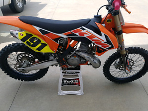 CLEANEST!! 2015 KTM 250SX MUST SEE!