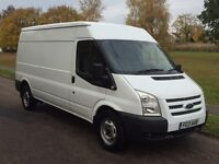 FORD TRANSIT LX 125T350 LWB MED ROOF 2013 NO VAT FULL HISTORY VERY CLEAN