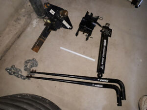Husky Weight Distribution and Sway Control Hitch