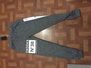 Women's crooks and castles track pants and hoodie new