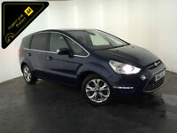 2011 61 FORD S-MAX TITANIUM TURBO 1 OWNER FORD HISTORY 7 SEATS FINANCE PX