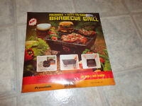 Portable Folding Barbeque grill; brand new