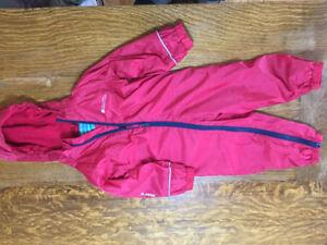 18-24m waterproof fleece