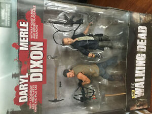 The Walking Dead Daryl figure bundle