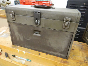 "VINTAGE KENNEDY 7 DRAWER, 20"" MACHINIST'S BOX"
