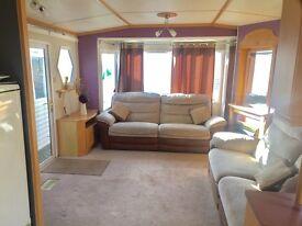Lovely starter static caravan holiday home Morecambe ocean edge 12 month not regent