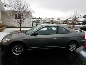 2005 Honda Civic Coupe - Low kms, great condition