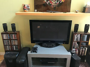 "LG 48"" Plasma + 1200 WATT LG Sound System Included"