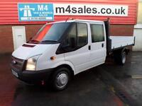 Ford Transit 350 CREWCAB 1 STOP TIPPER 125PS