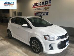 2018 Chevrolet Sonic R/S PACKAGE, SUNROOF, BLUETOOTH  - $117.06
