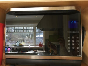 Panasonic Combi Oven (Convection + Steam + Microwave + Grill)