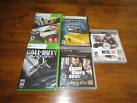 5 Games For Sale