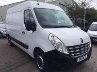 2011 Renault Master 2.3TD Euro 5 MWB HIGH ROOF VAN ONE OWNER FROM NEW NO VAT !!!