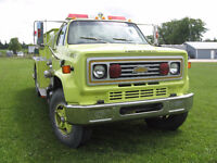 1988 Chevrolet Pumper truck with tank 32000 kms