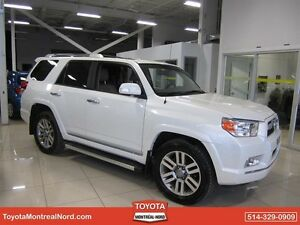 Toyota 4Runner Limited V6 5Pass. Cuir + Toit ouvrant + GPS 2013
