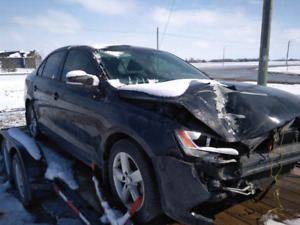 2011 Volkswagen Jetta TDI for parts 164000km