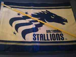 Baltimore Stallions Flag CFLers Canadian Football League CFL USA London Ontario image 6