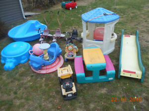 Free Outdoor Toys (ATTENTION DAYCARES)