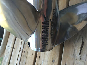 Yamaha Vmax series stainless steel prop