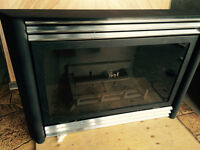 Previously used Kingsman IDV33 gas fireplace insert.