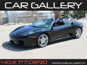 2007 Ferrari F430 Spider F1 / TRIPLE BLACK / DAYTONA POWER SEATS