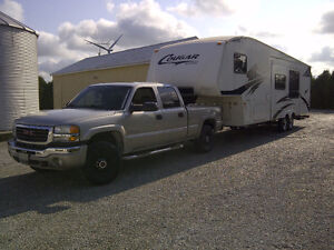 Cougar 5th Wheel Camper