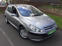 Peugeot 307 1.4HDi LX, £30 Road Tax