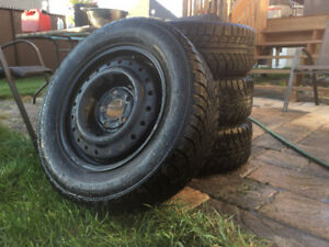 175$ negotiable. 4 Gislaved Winter Tires (195/65R15)