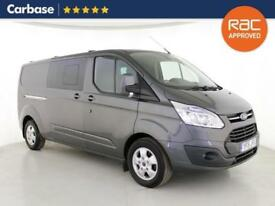 2015 FORD TRANSIT CUSTOM 2.2 TDCi 125ps Low Roof Double Cab Limited Van