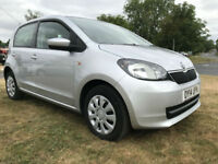 14 SKODA CITIGO 1.0 MPI 5 DOOR £20 ROAD TAX FROM ONLY £109 A MONTH