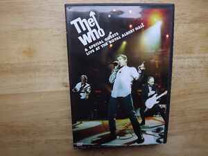 "FS: The Who ""Live At The Royal Albert Hall"" 2-DVD Set"