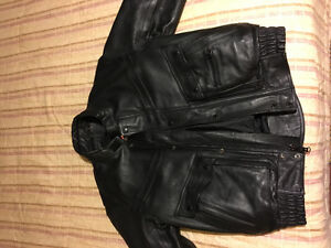 Motorcycle jacket for $120.00