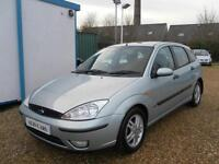 Ford Focus Zetec 16v 2003 5 dr h/b SOLD SOLD
