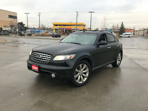 2003 Infiniti FX 45, AWD,DVD, ONLY147000, 3/Y warranty available