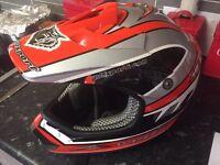 Wulfsport helmet motocross