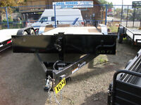18' Oasis Equipment Trailer - slide-in ramps
