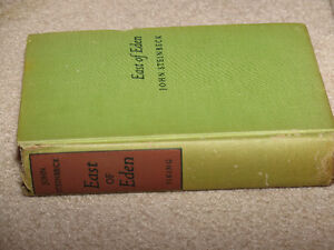 East of Eden John Steinbeck First Edition Third Printing Book London Ontario image 3