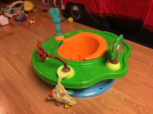 Infant Booster seat Play Center