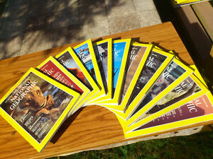 National Geographic 1983 - 11 months package