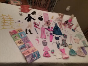 Barbie - A Variety Of Items (See Photo)