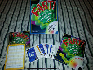 Fart! Fast 'n' Flatulent Card Games London Ontario image 2