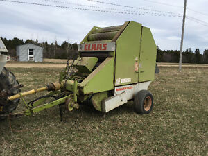 Claas round baler for sale