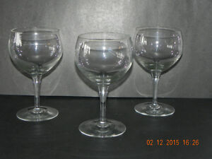 Extra BIG wine glasses (reduced price )To $5.00 West Island Greater Montréal image 4
