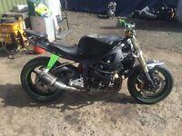Yamaha r6 stunt bike 2005