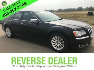 2014 Chrysler 300 Limited  Black Leather, Big Screen, Sporty  Fu