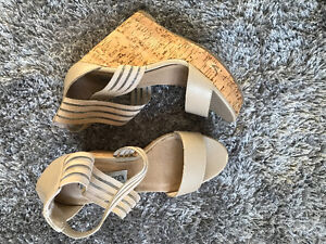 STEVE MADDEN SHOES. WORN ONCE.