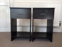Bedside cabinets with drawer