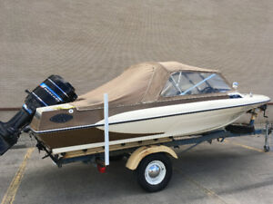 1976 Glastron V-173 with 115 HP.  One owner!