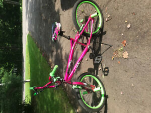Girls bikes in good condition.